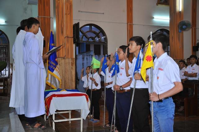 Lễ ra mắt đoàn TTNT giáo xứ Vườn Vông