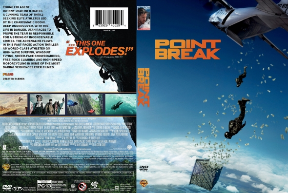 Point Break – Latino, Inglés – DVD9