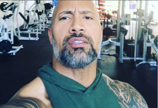The Rock accepts Kelvin Hart challenge, donates $25k to Houston Relief and take a slight swipe at the comedian for calling out celebs (Video)
