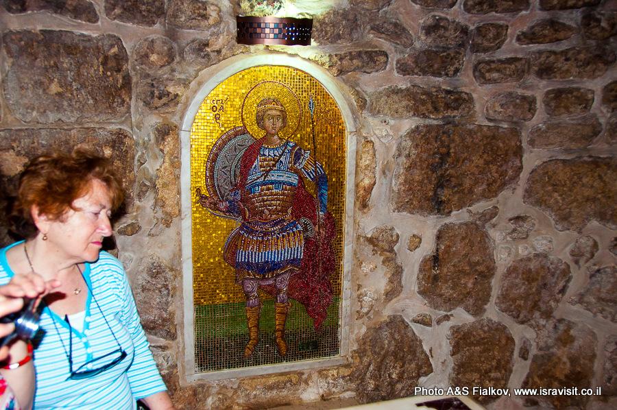 Крипта церкви Георгия Победоносца. Лод, Израиль. Экскурсия Светланы Фиалковой.