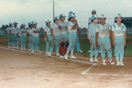 Poza Rica, Veracruz en el campeonato nacional de ligas pequeñas división menor 1986