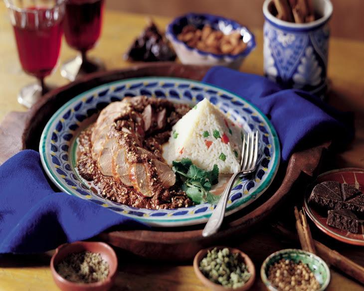 Pork Tenderloin with Classic Mole Sauce Recipe