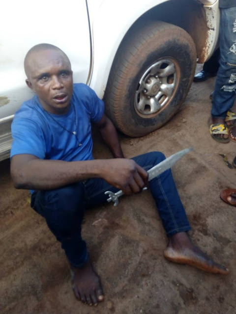 Commercial Driver Stabs Two FRSC Officials In Otukpo