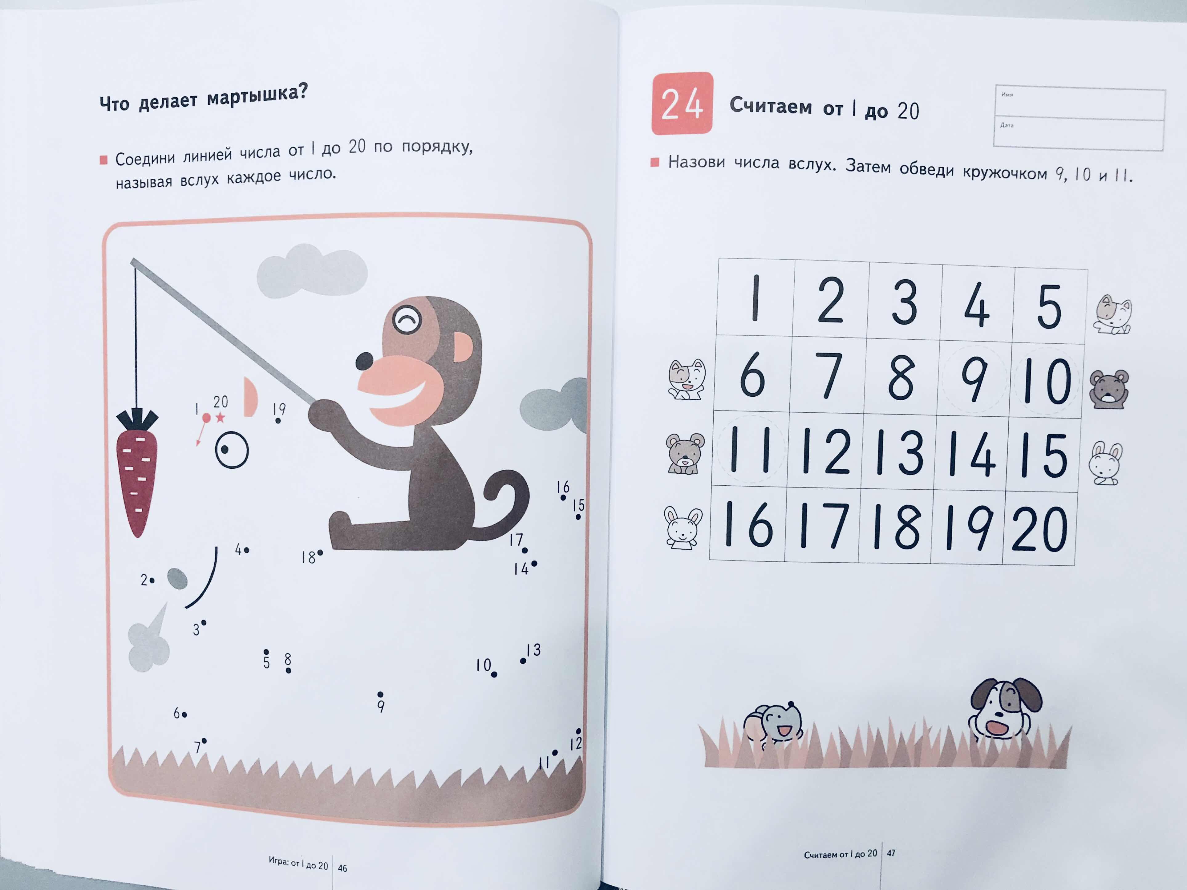Начинаем учиться считать. Изучаем счет от 1 до 30. 15