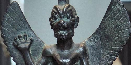 Pazuzu a veces llamado Fazuzu o Pazuza, fue una deidad demoniaca del viento.