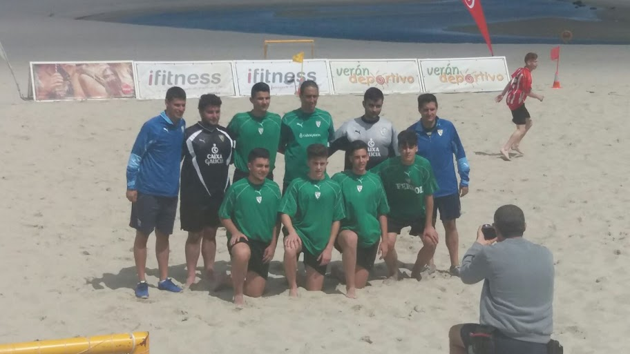 Selección de Ferrol de Fútbol Playa Juvenil