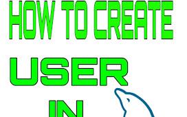 How To Create User In MySQL