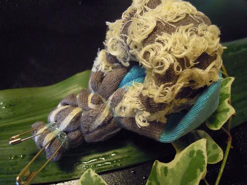 easy sock snail