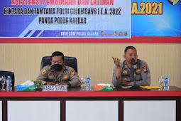 Polda Kalbar Gelar Asistensi Binlat Bintara dan Tamtama Polri Gelombang I T.A. 2022