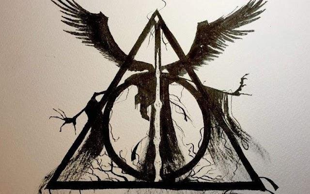 Saiba como surgiu o misterioso símbolo de 'Harry Potter e as Relíquias da Morte'