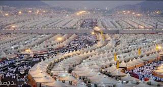 Hajj: les pèlerins à Mina, un an après la bousculade mortelle.