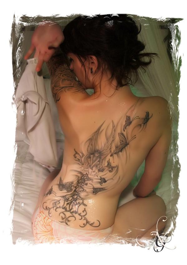 hip tattoos for girls. girls tattoos on hip.