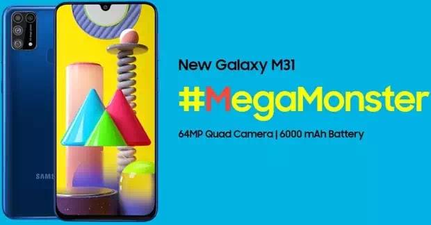 Samsung Galaxy M31 Harga