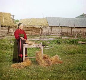 Крестьянка, Пермская губерния (Сергей Михайлович Прокудин-Горский)