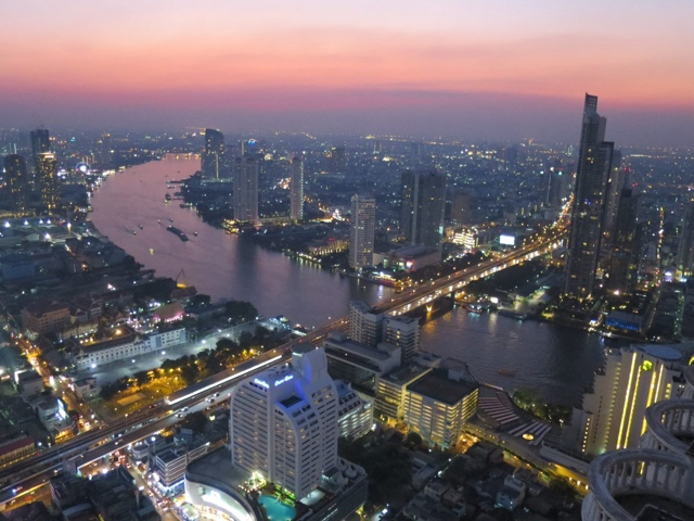 Rooftop Bar views Bangkok