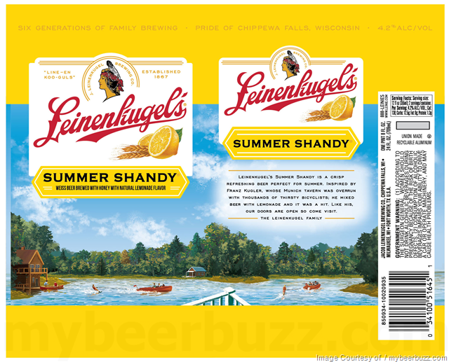 Leinenkugel's Summer Shandy 24oz cans