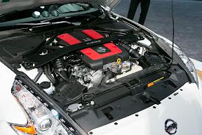 Nissan 370Z Nismo Engine Bay