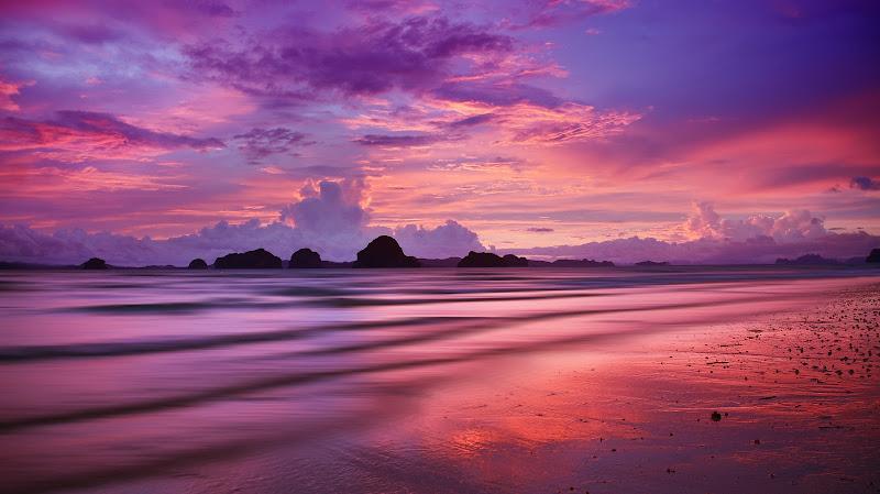 La magia di un tramonto di BASTET-Clara