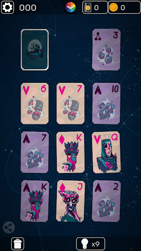 FLICK SOLITAIRE - FLICKING GREAT NEW CARD GAME android2mod screenshots 3