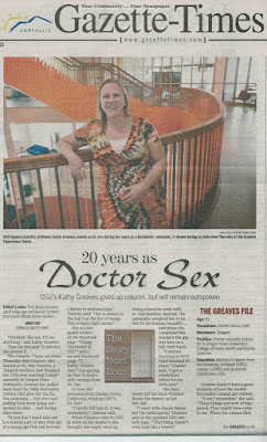OSU Dr. Sex front page G-T Jun. 30, 2015, p. A1