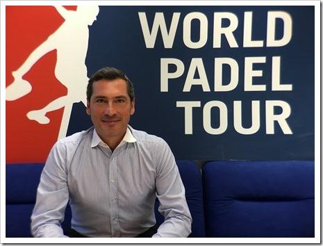 World Padel Tour ficha a Ángel Rodríguez como responsable de Comunicación para esta temporada 2016.