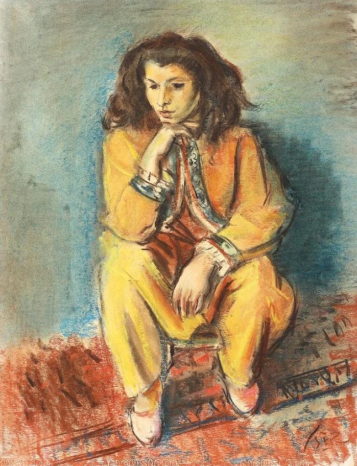 Iosif Iser - Tătăroaică în galben