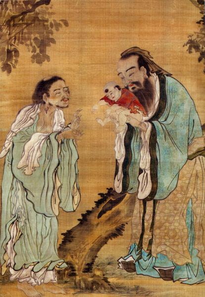 Confucius Laozi Buddha, Confucius