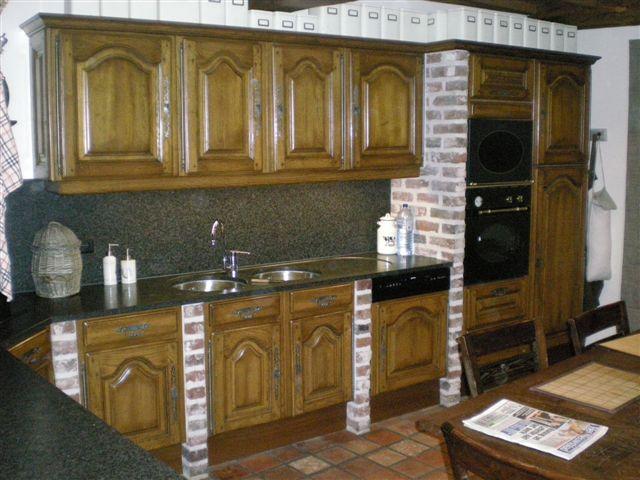 Hoe Eiken Keuken Schilderen : Meubelrenovatie Gerenoveerde keuken voor en na
