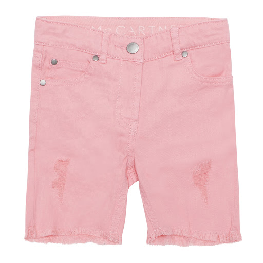 Primary image of Stella McCartney Pink Denim Shorts