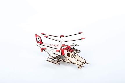 Модель Розмальовка Helikopter
