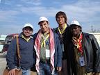 Delegados de Colombia, Jordania, Korea y Sudán