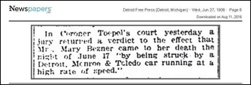 BEZNER_Mary_Coroner__039_s_verdict_27_Jun_1906_DetFreePress_pg_6 - Copy