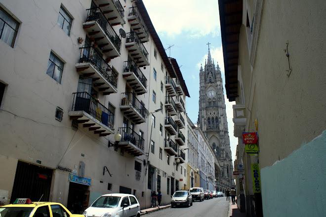 centro historico quito ecuador