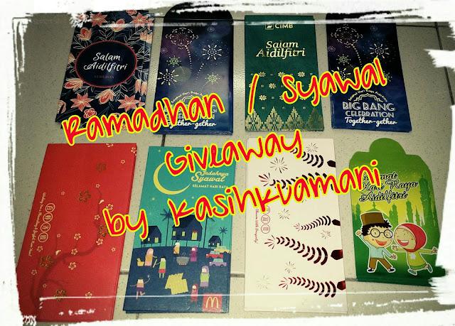 """""""Ramadhan / Syawal 2017 Giveaway by Kasihkuamani""""."""