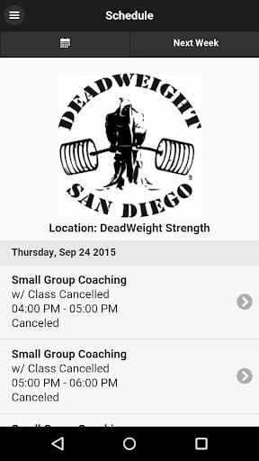 Deadweight Strength