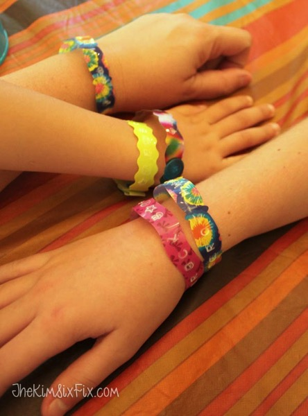 Text bracelets