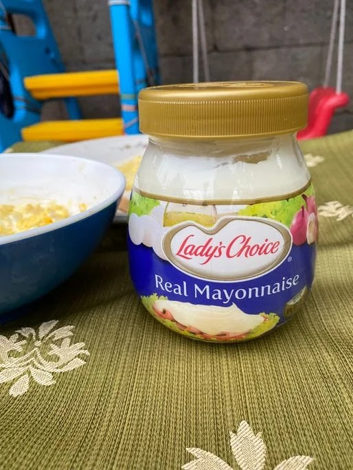 Lady's Choice mayonnaise for collaborative parenting