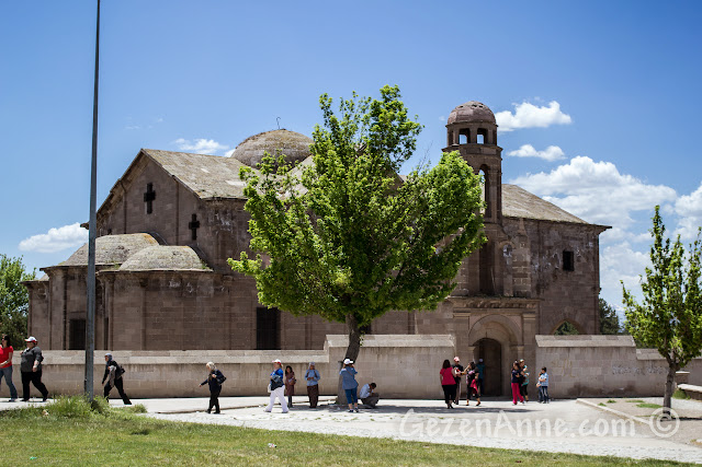 Kapadokya'daki Derinkuyu'da bulunan kilise