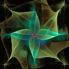 """The """"Star Flower"""" piece from the """"2012"""" collection"""