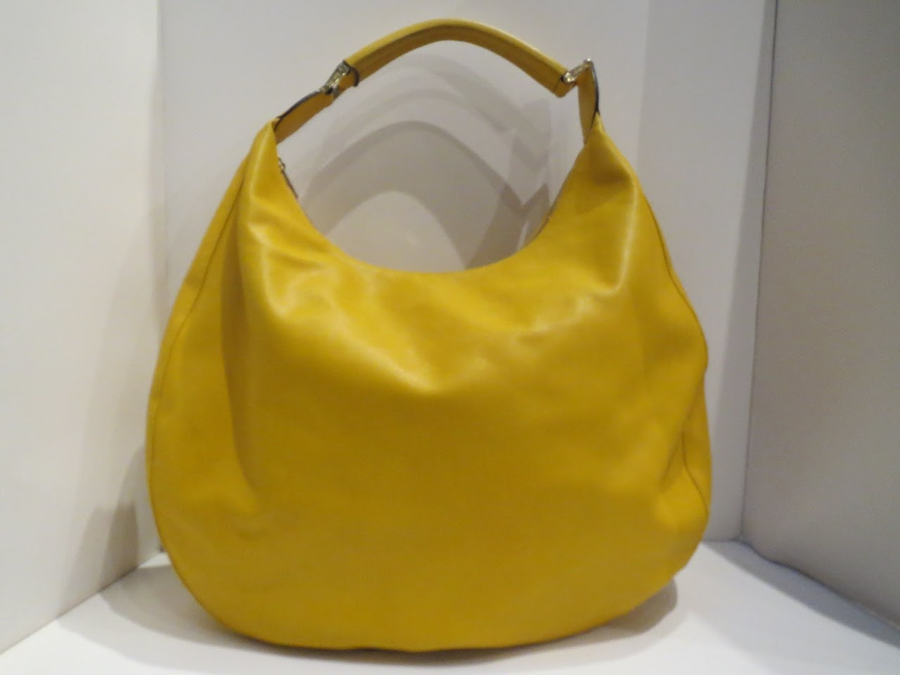 Valextra Namaste Bag in Burnt Yellow