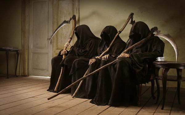 Dark Art Grim Reaper, Evil Creatures
