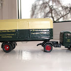 Bedford O artic  1/76 scale model built with RTI compnants, Alfred Button livery