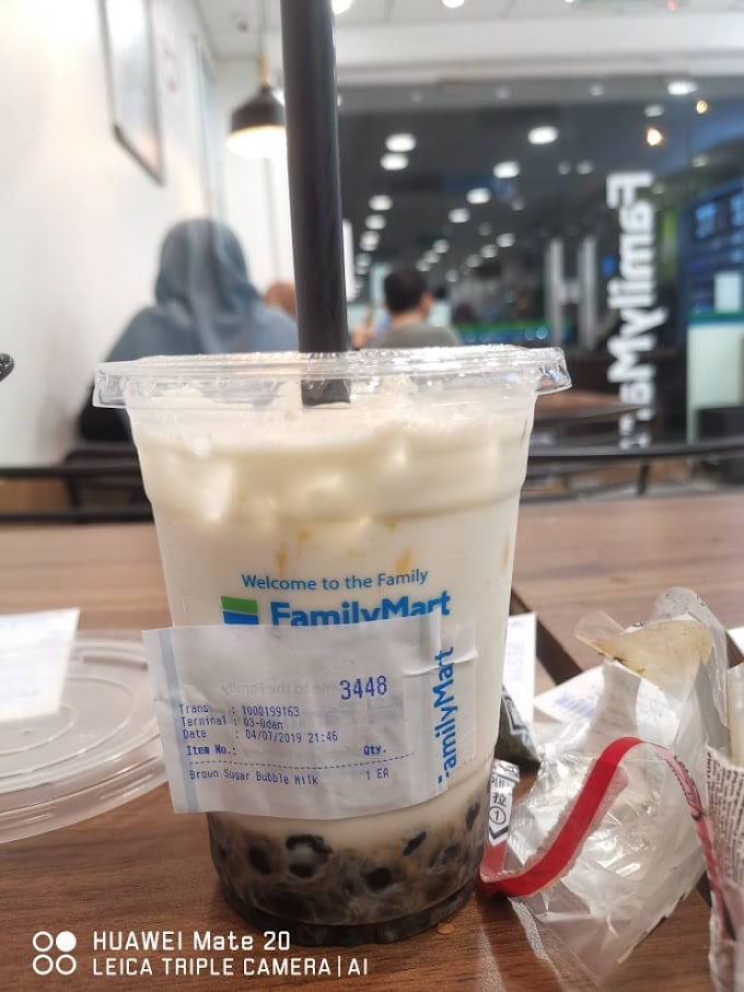 Misi Mencari Bubble Milk