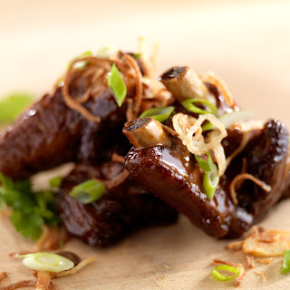 Sticky Asian Pork Ribs.