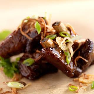 Sticky Asian Pork Ribs.