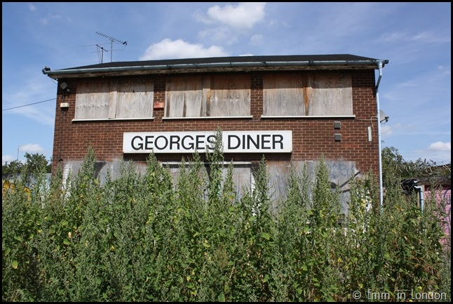 Derelict London Silvertown - Georges Diner