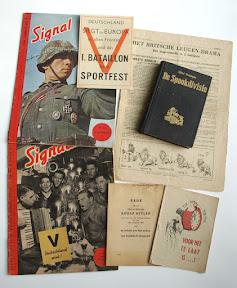 Duits / NSB propaganda materiaal