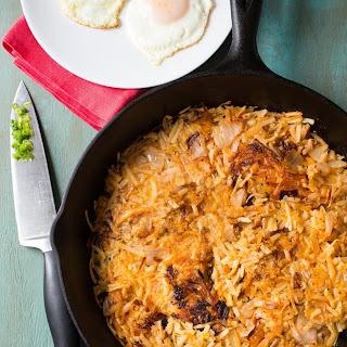 3-Ingredient Kimchi Hash Browns