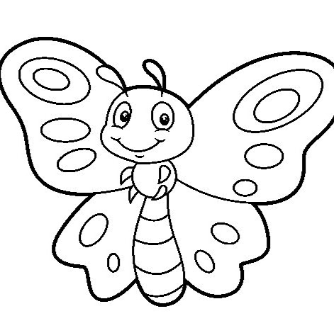Mariposas para Colorear - Google+