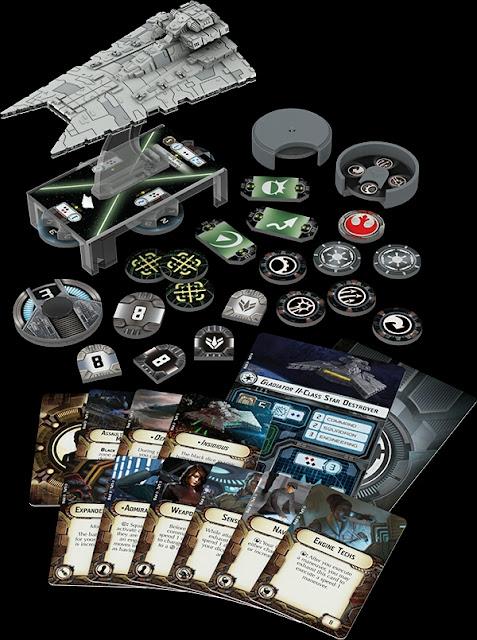 Destructor Estelar clase Gladiador Star Wars Armada Wave 1